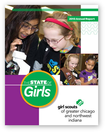 Girl Scout annual report
